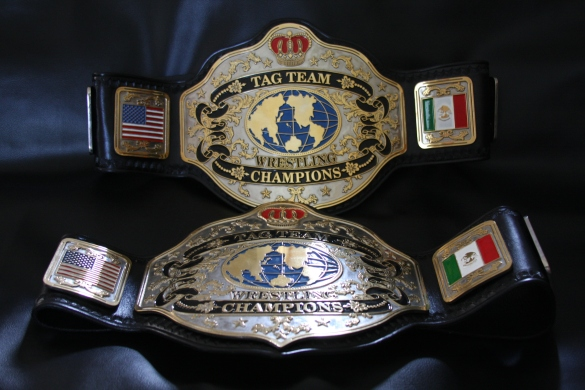 Visual Basis for the  NWCW Tag Team Championship