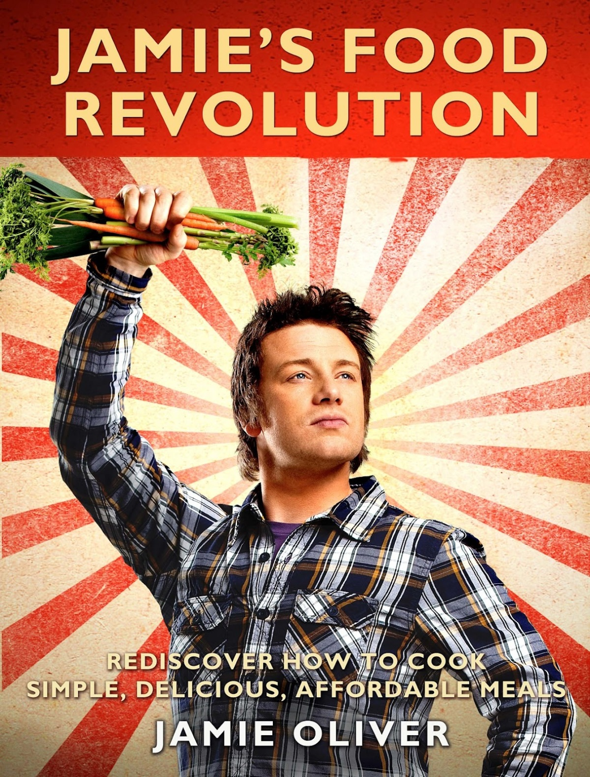 Book Cover of Jamie's Food Revolution