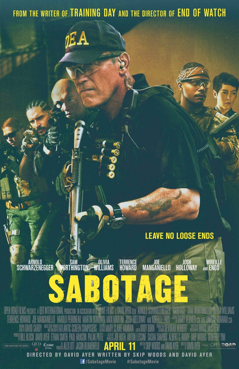 Movie Review – Sabotage