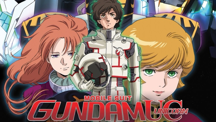 Cropped version of Gundam Unicorn Blu-Ray Art