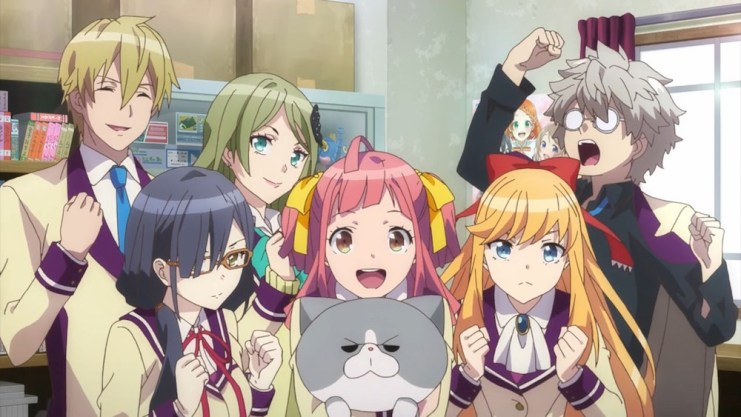 The Anime Club from Anime-Gataris.