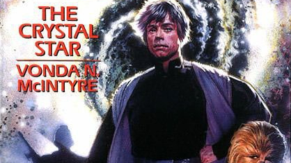 "Portion of the cover of the book ""The Crystal Star""."